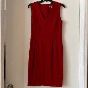 Banana republic red dress. Size 6. New with tags.